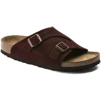 【BIRKENSTOCK】Zürich/チューリッヒ Suede Leather Soft Footbed ポート スウェードレザー ビルケンシュトック