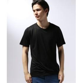 EDIFICE GUY ROVER / ギローバー リネンジャージーポケットTシャツ ブラック S