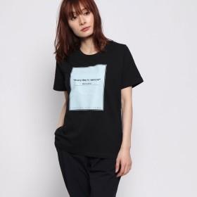 イグニオ IGNIO レディース 半袖Tシャツ グラフィックTシャツ(半袖) LBOXロゴアソートTSS