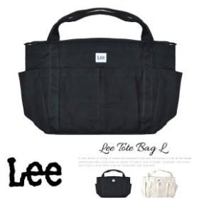 トートバッグ マザーバッグ ビッグ ショルダーバッグ Lee リー コットン メンズ レディース 大容量 2Wayバッグ 0425471