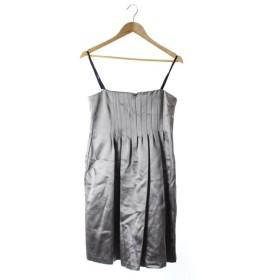 ドゥーズィエム クラス ラリュー DEUXIEME CLASSE LALLURE ワンピース キャミソール ドレス ひざ丈 F グレー /SR7 レデ