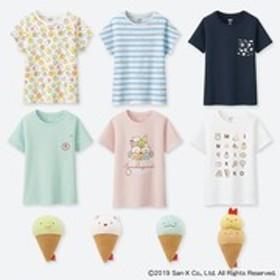 GIRLS すみっコぐらしUT(グラフィックTシャツ・半袖)コンプリートセット