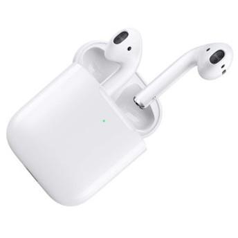 APPLE MRXJ2J/A AirPods(エアポッド) with Wireless Charging Case [ワイヤレスイヤホン(Bluetooth接続・マイク付)]【あす着】