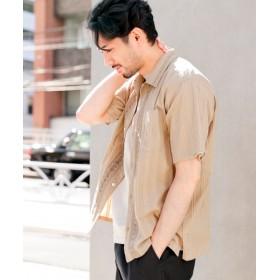(niko and./ニコアンド)インドアリ刺繍シャツ/ [.st](ドットエスティ)公式