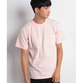 ジーンズメイト BEEFY-T ポケットTシャツ メンズ ライトピンク M 【JEANS MATE】