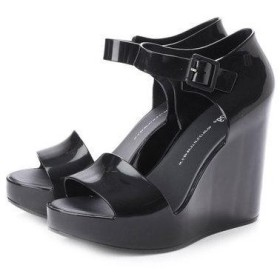 メリッサ melissa MAR WEDGE (BLACK)