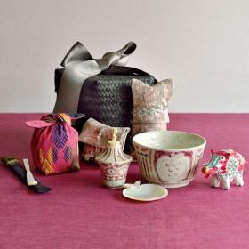【婦人画報】松尾 三希子さんの旅持ち茶籠「白雪姫」のお誂え