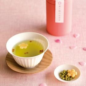 【婦人画報】星と桜の玄米茶