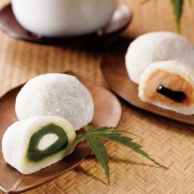 【婦人画報】宇治抹茶ときな粉のクリーム大福