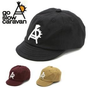 go slow caravan ゴースローキャラバン ショートブリムキャップ 312901
