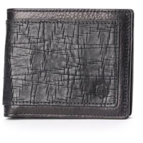 シオン Shion 二つ折り財布 (ブラック)