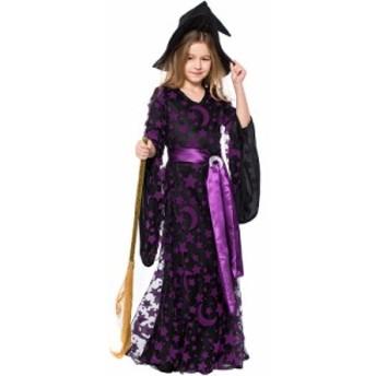 ハロウィン 衣装 子供 女の子 魔女 悪魔 仮装 子供ドレス ワンピース コスプレ 巫女  Halloween 3