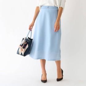 アクアガール aquagirl ツイルヴィンテージ 台形スカート (ブルー)