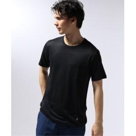 EDIFICE GUY ROVER / ギローバー リネンジャージーポケットTシャツ ネイビー XS