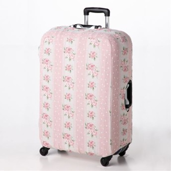 ぴったりフィットインテリア小物 ■カラー:ピンク系 ■サイズ:スーツケース用