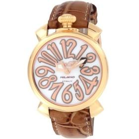 GaGa MILANO ガガミラノ 腕時計 ユニセックス MANUALE 40MM ホワイトパール 5021.2.BRW