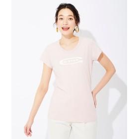 G-Star RAW グラフィックスリムTシャツ レディース ライトピンク