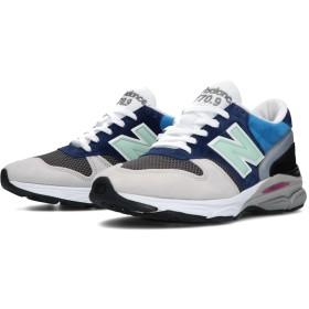 (NB公式)【ログイン購入で最大8%ポイント還元】 メンズ M7709 FR (ブルー) スニーカー シューズ(Made in USA/UK) 靴 ニューバランス newbalance