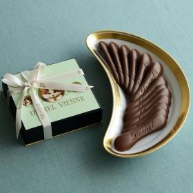【婦人画報】ソリッドチョコ 猫ラベル ミルク