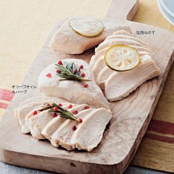 【婦人画報】匠赤鶏のサラダチキン 2種セット 4個入り(2種×2個)
