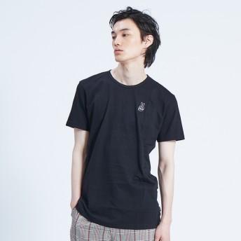 [マルイ]【セール】【CEIZER】Peace Embroidery Tシャツ/アバハウス(ABAHOUSE)