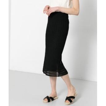 SENSE OF PLACE(センスオブプレイス) スカート スカート レースニットスカート