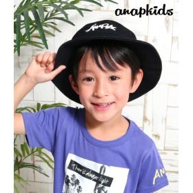 【セール開催中】ANAP KIDS(キッズ)手描きロゴバケットハット