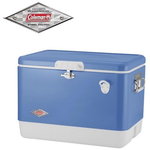 アニバーサリーモデル スチールベルトクーラー ビンテージブルー(60周年記念モデル)限定カラー 3000004937 コールマン  クーラーボックス キャンプ クーラー
