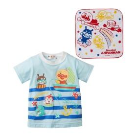 アンパンマン 半袖Tシャツ(タオル付)(男の子 女の子 ベビー服 子供服) Tシャツ・カットソー