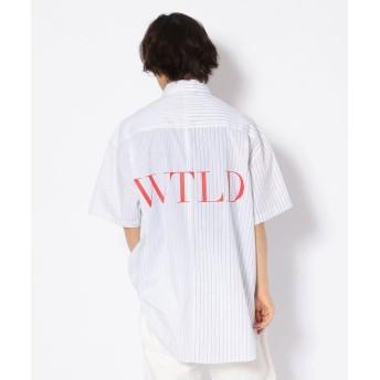 エルエイチピー WHITELAND/ホワイトランド/ドッキングシャツ メンズ WHITE F 【LHP】