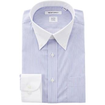 【THE SUIT COMPANY:トップス】【SUPER EASY CARE】クレリック&ボタンダウンカラードレスシャツ〔EC・FIT〕