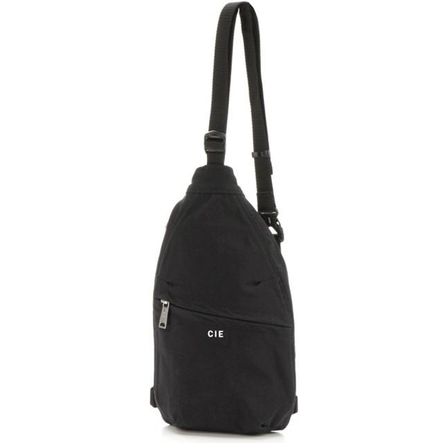 [マルイ] ナイロンミニバッグ(CIE-SLING MINI BAG BK)/CIE(シー)