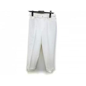【中古】 ビースリー B3 B-THREE パンツ サイズ3 L レディース 美品 アイボリー