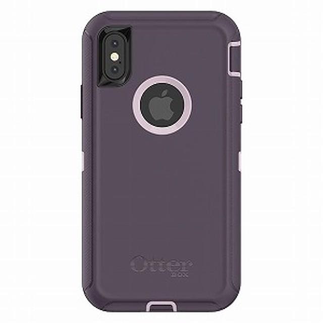トーン OtterBox Defender Series for iPhone X 77-57028 Purple