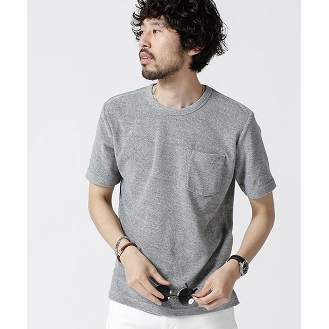 [マルイ]【セール】【19SS】ショートリングパイルTシャツ/ナノ・ユニバース(メンズ)(nano universe)