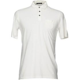 《期間限定 セール開催中》ROBERTO COLLINA メンズ ポロシャツ ホワイト 48 100% コットン