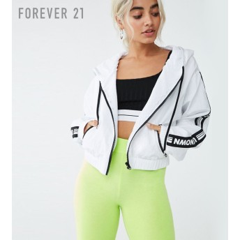 FOREVER21 フォーエバー21 【Unknownロゴウィンドブレーカー】(5,000円以上購入で送料無料)