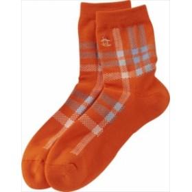 ソックス Munsingwear (マンシングウェア) メンズ MGBLJB21 オレンジ 1904 靴下 ゴルフウェア