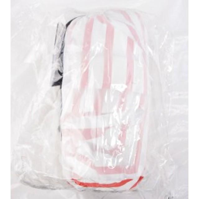 【未使用品】HELLY HANSEN(ヘリーハンセン) HOE11400 スカンザヘリーレインスーツ サイズL ScandzaHellyRainSuit 雨具 ボーダーレッド