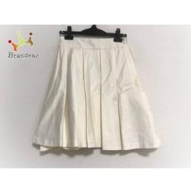 ミリー MILLY スカート サイズ0 XS レディース 美品 アイボリー     スペシャル特価 20190906