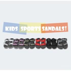 スポーツバンドサンダル サンダル キッズ ベルクロ スポーツサンダル ビーチサンダル 女の子 男の子 履きやすい おしゃれ シューズ 子供