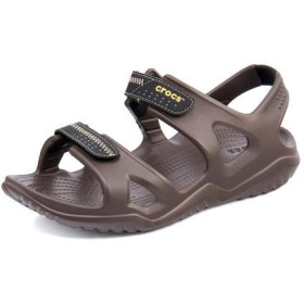 SALE!crocs(クロックス) SWIFTWATER RIVER SANDAL M メンズサンダル【超軽量】(スウィフトウォーターリバーサンダルM) 203965 23K エスプレッソ/ブラック【ネット通販限定価格】 スポーツ