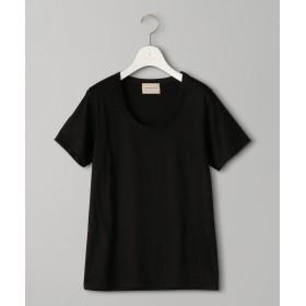 ユナイテッドアローズ UBCB Uネック Tシャツ レディース BLACK FREE 【UNITED ARROWS】
