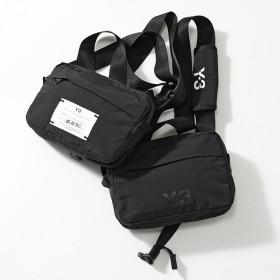 Y-3 ワイスリー adidas アディダス YOHJI YAMAMOTO DZ0801 MULTI BAG マルチポケット チェストバッグ ベルトバッグ ショルダーバッグ BLACK メンズ