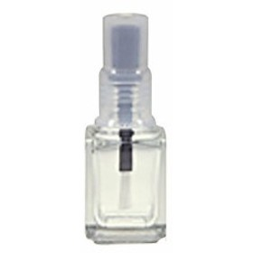 NF カラーキャップ空ボトル ブラック 12ml 【ポリッシュ/詰替/収納/ネイルサロン備品/ネイル用品/マニキュアボトル/エンプティーボトル】