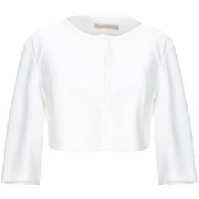 《セール開催中》RINASCIMENTO レディース テーラードジャケット ホワイト XL ポリエステル 95% / ポリウレタン 5%