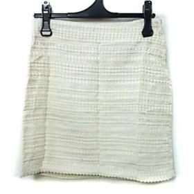 【中古】 エイチアンドエム H & M ミニスカート サイズ160/64A レディース アイボリー