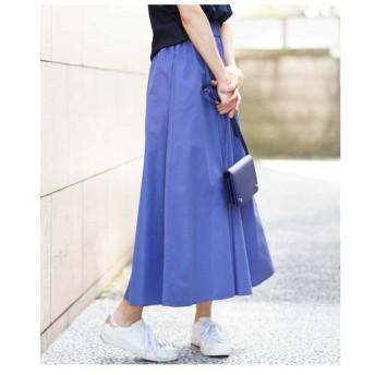 MK MICHEL KLEIN / 【洗える】ロング丈ギャザースカート