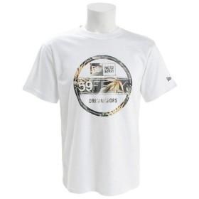 ニューエラ(NEW ERA) 【オンライン特価】 パフォーマンスTシャツ ボタニカル バイザーステッカー 11901339 (Men's)