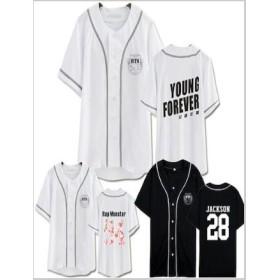 BTS PLANET コンサート 同型 野球服 Tシャツ BTS野球服 トップス 男女兼用/ CALL ME BABY /BTS 服/グッズ